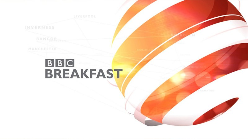 My work is on BBC breakfast!!
